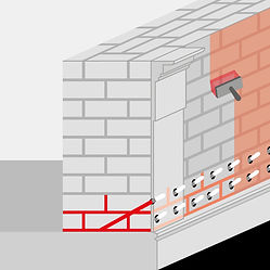 baudenkmalpflege, Mauer mit Beschichtung