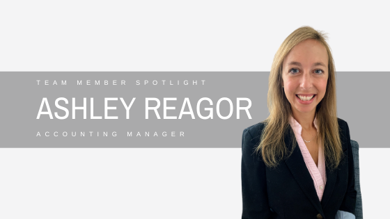 The KF Group Accounting Manager: Ashley Reagor