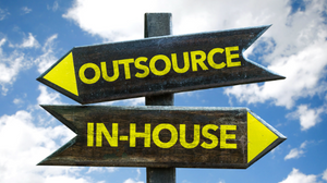 Outsourcing vs In house sign