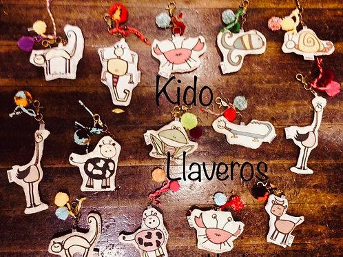 Llaveros Kido