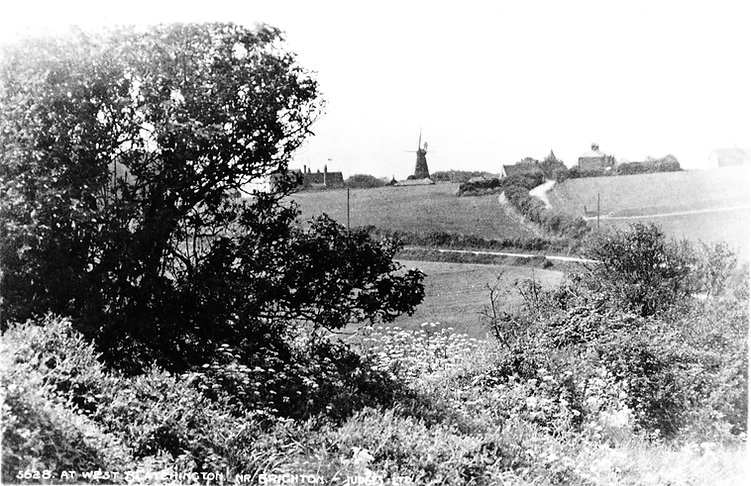Scan of photo-print of West Blatchington