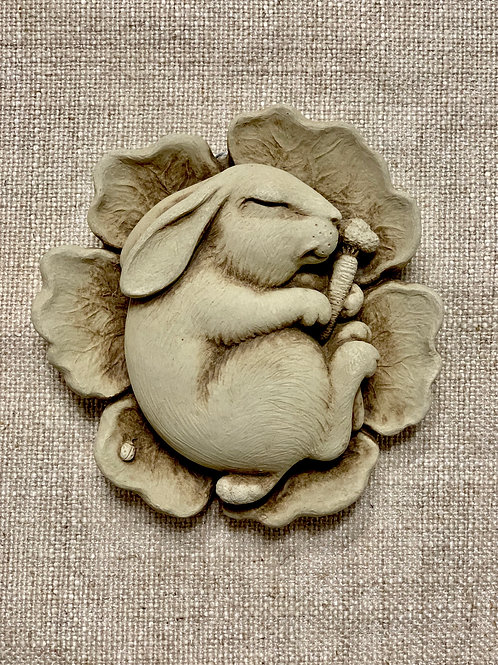 """NAPPING BUNNY"" BY CARRUTH STUDIO"