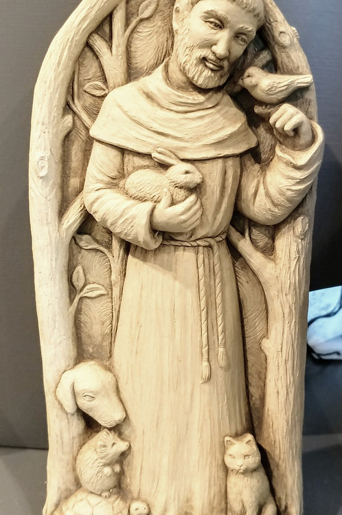 """""""ST. FRANCIS BLESSES ANIMALS"""" BY CARRUTH STUDIO"""