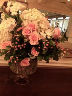 Event Floral Arrangement Pink