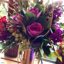 Event Floral Arrangement Purple