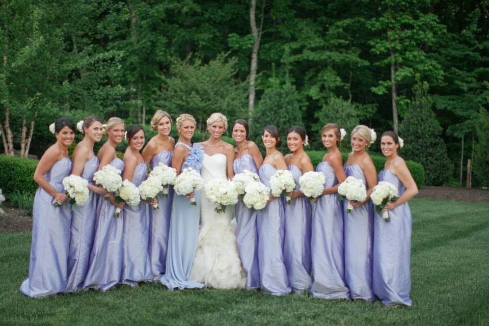 Bride Bridesmaids Wedding Bouquets