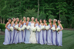Bride Bridesmaids Wedding Bouquets