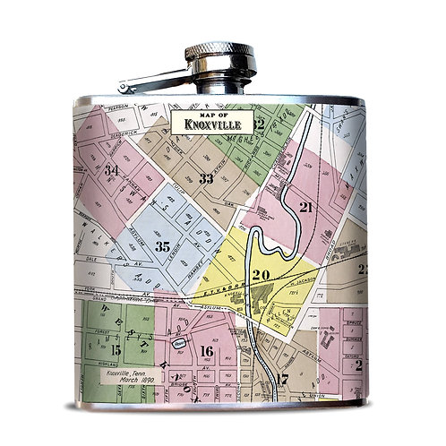 Oso & Bean 6 oz. Flask