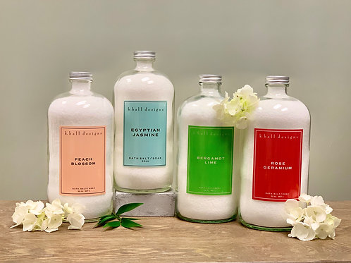 K.HALL STUDIO BATH SALTS/SOAK