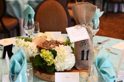 Event Centerpiece Floral Rustic