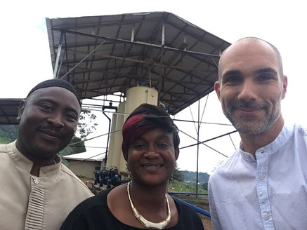 Herr Olaf Seidel zum Besuch in Bamenda am 21.08.2017