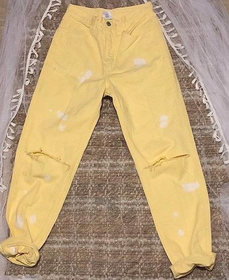 Yellow Guess Jean