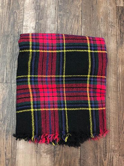 Neon cozy layer scarf
