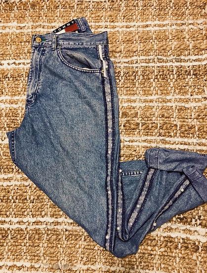 Vintage TommyMom Jean x Light Wash Pearl