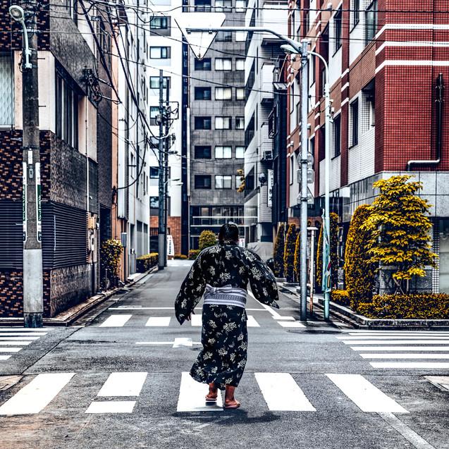 Sumo bryder i Ryogoku