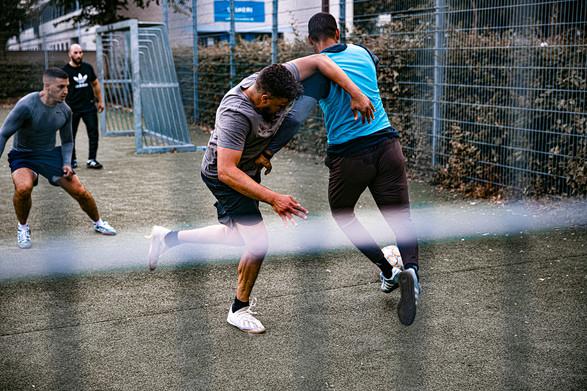 Gadefodbold i Hedemarken