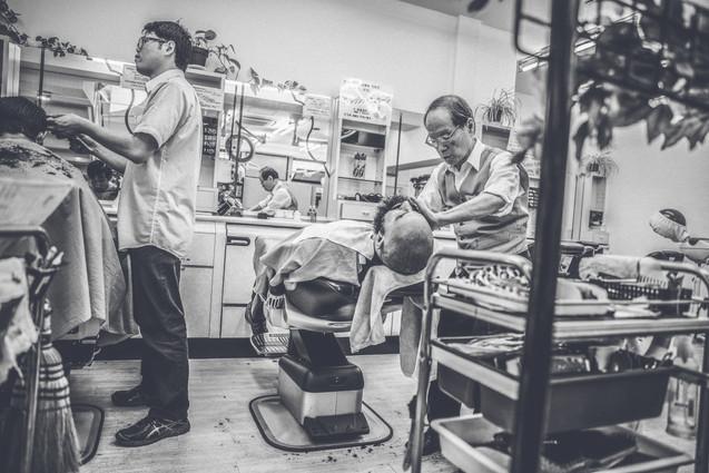 Barbershop i Tokyo