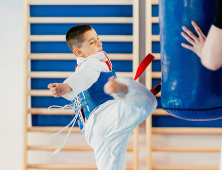 Tae Kwan Do Boy Training