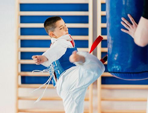 Tae Kwan Do Boy Training