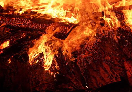 Was tun wenn's brennt