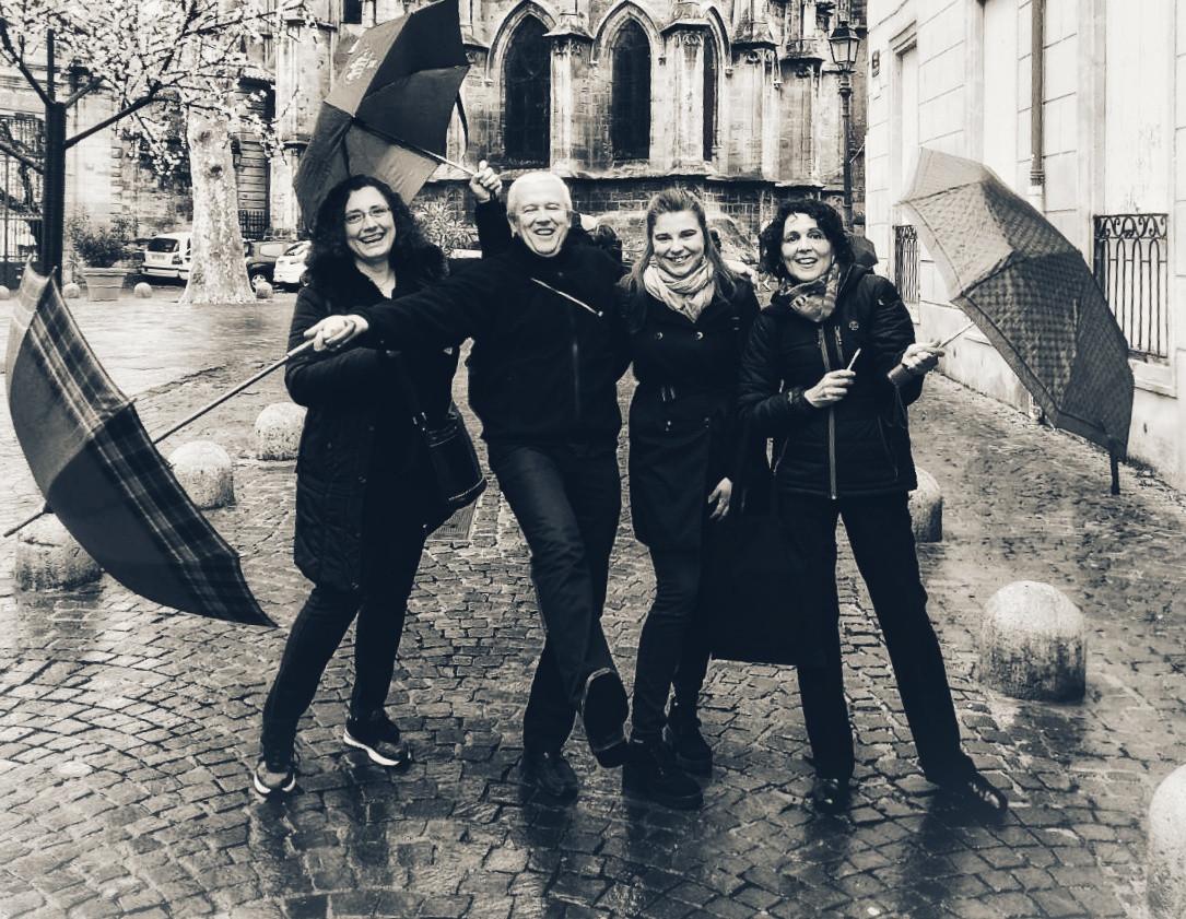 Singin' in the rain, Béziers