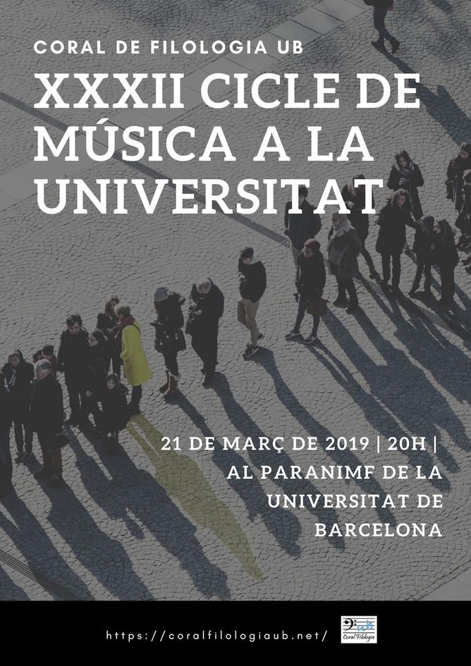 Participem al Cicle de Música UB