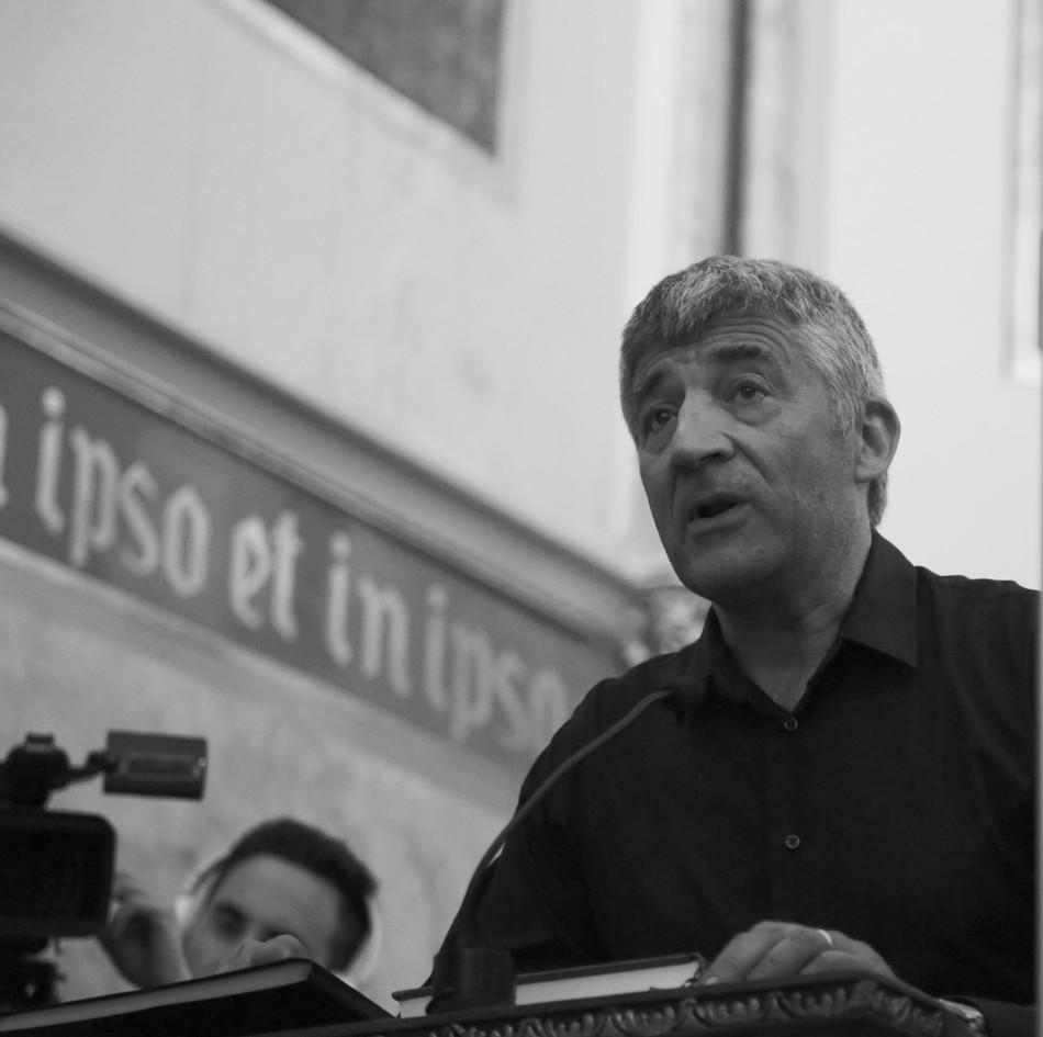 Prof.Enric Gargallo, Filologia UB, membre de la coral