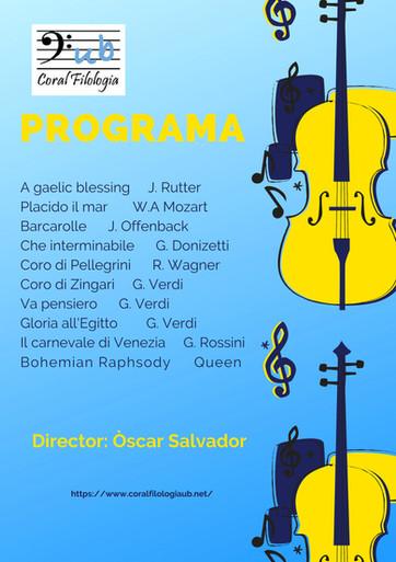 Concert a la Capella, 2019