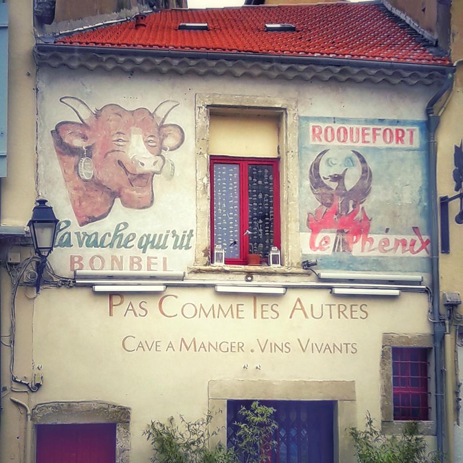 Detall de carrer, Béziers