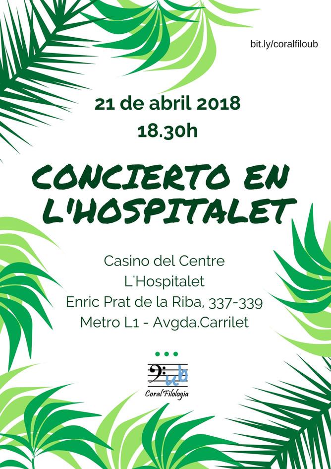 Concert a L'H 2018