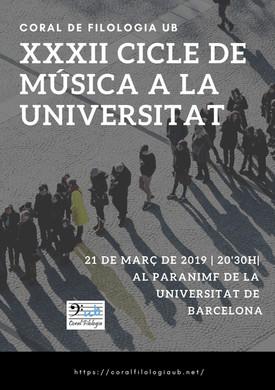 Cicle de Música UB 2019