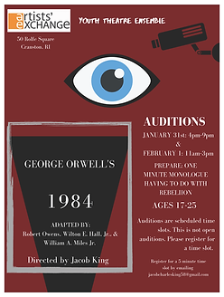1984 Auditions Flyer.png