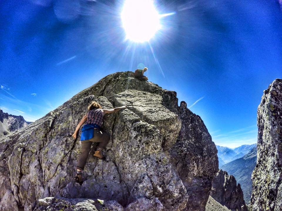 Climbing to the Sun