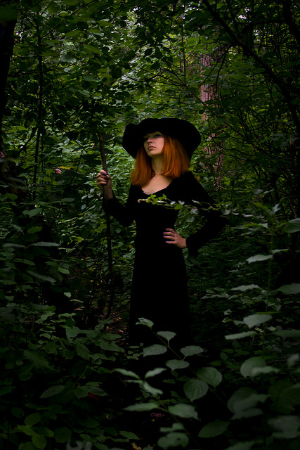 A Witch in the Woods - IMG_1566 by gliss-gliss