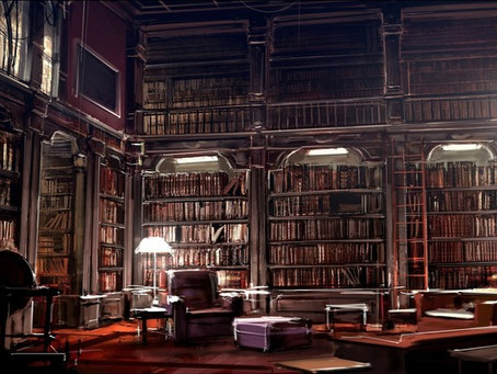 A Library for Your Haunted Castle