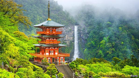 Temple in Hidden Valley