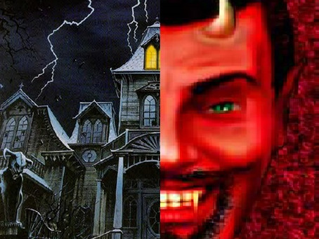 An October Double-Feature: 20 Haunted House Dressings & 13 Devils for Dancing