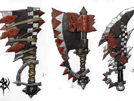 20 Orc Named Magical Weapons