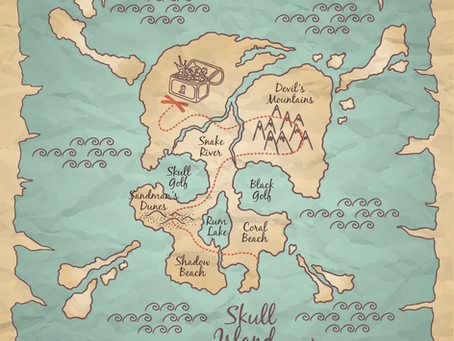 13 Things You'll Find on a Pirate's Treasure Map