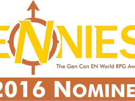 Black Shark Enterprises Nominated for Fan Favorite Publisher ENnie Award