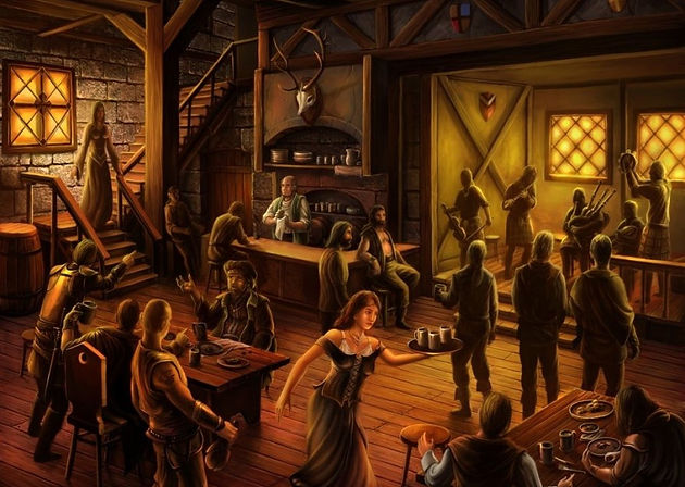 20 Events in a Crowded Tavern or Roadhouse Besides a Brawl