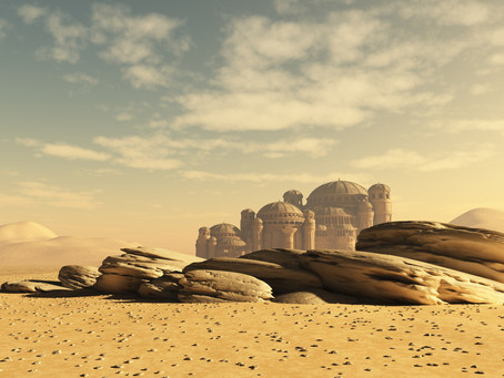 20 Locations Inside a Large Desert City