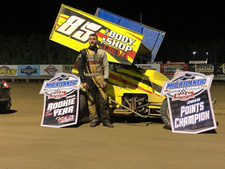 2019 Champion and Rookie of the Year- Ricky DiEva