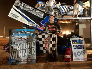 SWEIGART MAKES LAST LAP PASS TO WIN CO-SANCTION EVENT AT BAPS