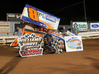 SCOTT ELLERMAN TOPS THE CHARTS IN CO-SANTIONED MASS/PASS RACESAVER SPRINT FEATURE AT WILLIAMS GROVE