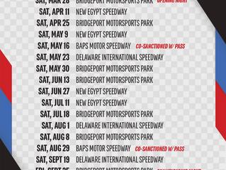 2020 Schedule Release