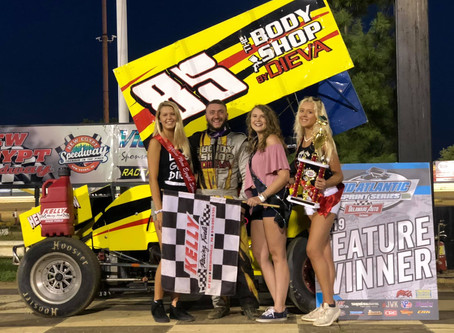 ROOKIE RICKY DIEVA CAPTURES HIS SECOND STRAIGHT WIN OF THE SEASON AT New Egypt SPEEDWAY