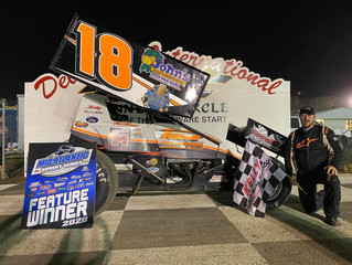TIM TANNER JR. WINS AT DELAWARE INTERNATIONAL!