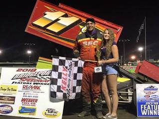 Stillwaggon Wins,Bridgeport Speedway Results