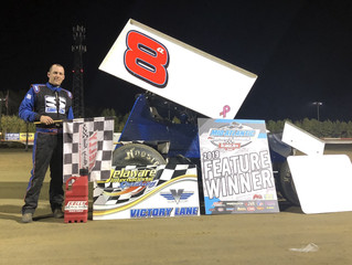 ANDY BEST EARNS SECOND WIN OF 2019 IN FRONT OF HOME CROWD AT DELAWARE INTERNATIONAL SPEEDWAY